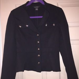 White House Black Market - Black Jacket - SIZE 2